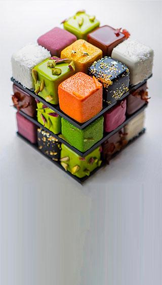 Cédric Grolet's Rubik's Cake